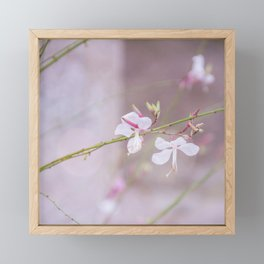 Love was when I loved you Framed Mini Art Print