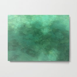 Water Reflection - Pictured Rocks National Lakeshore Metal Print
