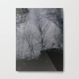 Blur Rain 15 Metal Print