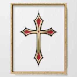 Christian cross Serving Tray