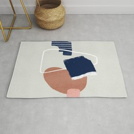 Abstract and geometrical artwork Rug