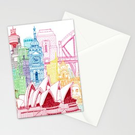 Sydney Towers Stationery Cards