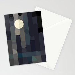 Lunar Elements Stationery Cards