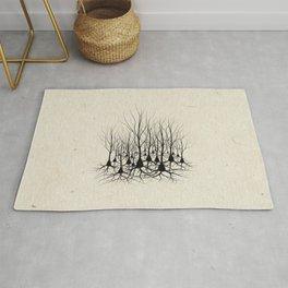 Pyramidal Neuron Forest Rug