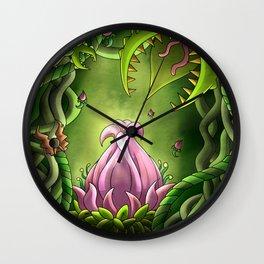 Plantera- Digital Wall Clock
