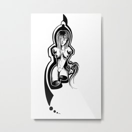 Node Metal Print