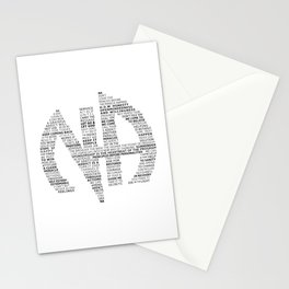 Narcotics Anonymous Symbol in Slogans Stationery Cards