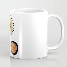 Mid-Century Modern Flowers 1 Coffee Mug