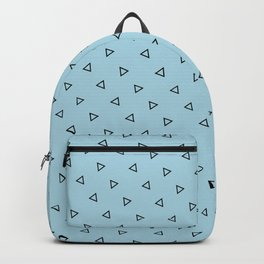 Pastel Blue Background Backpack