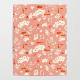 Happy Lucky Girl Charms Poster