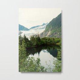 Mendenhall Glacier | Juneau Alaska Metal Print