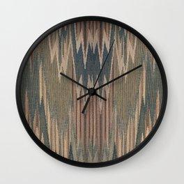 Native Cod Grey Wall Clock