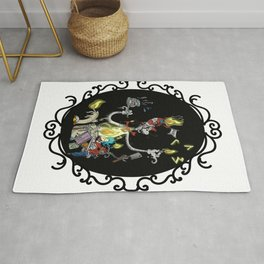 Cat in the Madness Hat Rug