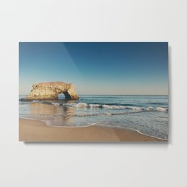 Natural Bridges State Beach ... Metal Print