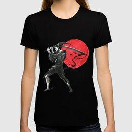 Silhouette of Samurai T-shirt