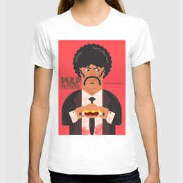 Pulp Fiction, Quentin Tarantino, Samuel L. Jackson, alternative movie poster T-shirt