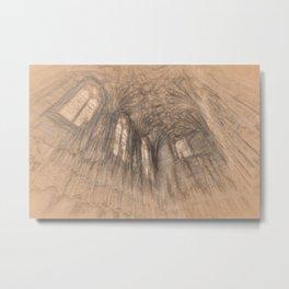 The Chapel da Vinci Metal Print