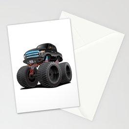 Monster Pickup Truck Cartoon Stationery Cards