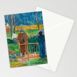 Bonjour Monsieur Gauguin (II) - Paul Gauguin (1889) Stationery Cards