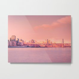 Sunsets Like These - New York City Metal Print