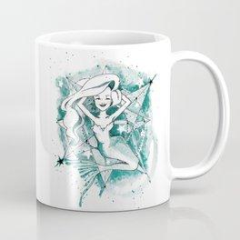 Mermaid Sketch Coffee Mug