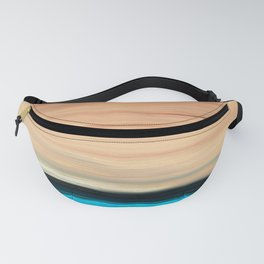 Pure Peace Modern Abstract Landscape Art by Sharon Cummings Fanny Pack
