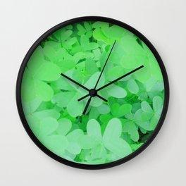 GREEN & LUCKY Wall Clock