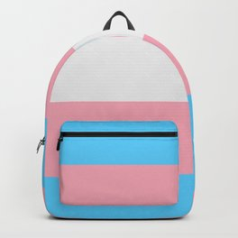 Trans Pride Flag Backpack