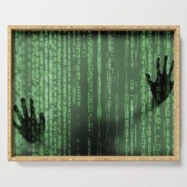 Matrix Serving Tray