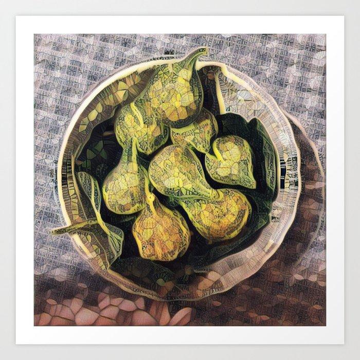 Fresh Figs. Art Print