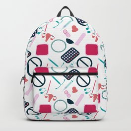 Contraception Pattern Backpack