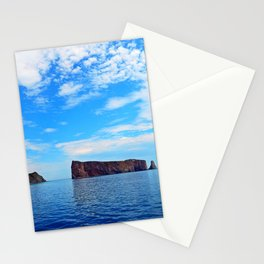 Perce Rock and Cliff Stationery Cards