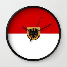 Flag of Dortmund Wall Clock