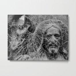 Spider Jesus Metal Print