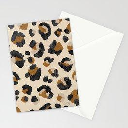 Leopard Print – Neutral Gold Light Palette Stationery Cards