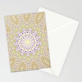 Purple pattern Stationery Cards