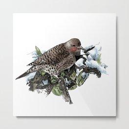 Winter Flicker  Metal Print