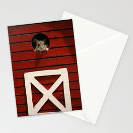 Barn Mouse Stationery Cards