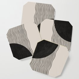 Woodblock Paper Art Coaster