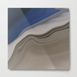 Sophisticated Ocean View Metal Print