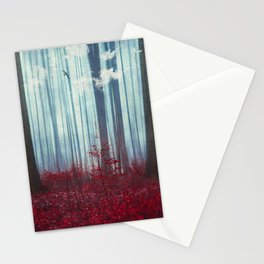 gateways - surreal abstract forest Stationery Cards