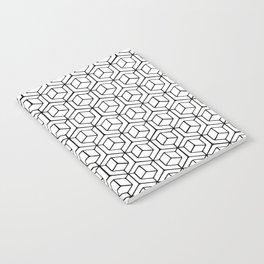 Hand Drawn Hypercube Notebook