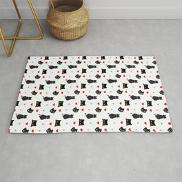 Funny Cat Pattern Rug