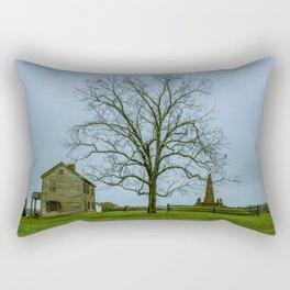 Henry House and Bull Run Monument Manassas National Battlefield Park Virginia Rectangular Pillow
