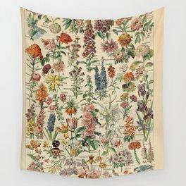Fleurs A / Le Larousse pour tous Wall Tapestry