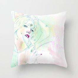 001 bulba Throw Pillow