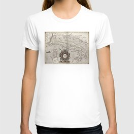 Vintage Map of Italy (1618) T-shirt