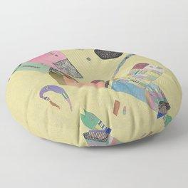 Wassily Kandinsky - Moderation Floor Pillow
