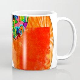 Orange Spunk Yin & Yang Coffee Mug