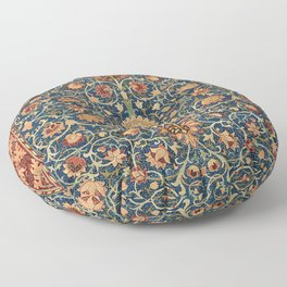 Holland Park Carpet by William Morris (1834-1896) Floor Pillow